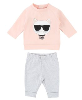 KARL LAGERFELD KIDS BABY GIRLS TRACK SUIT