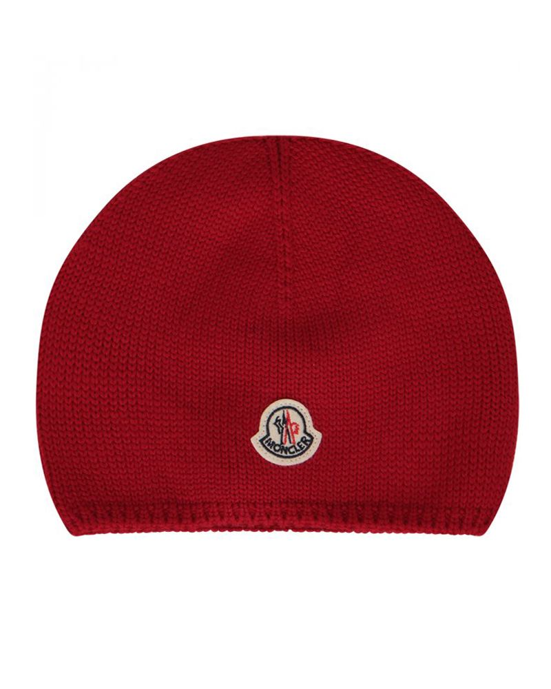 MONCLER MONCLER TODDLER UNISEX HAT - Designer Kids Wear badbed21355