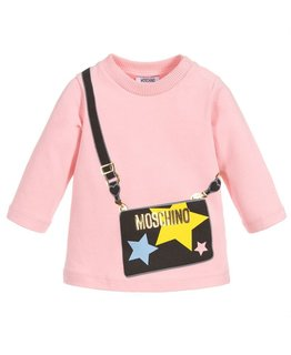MOSCHINO BABY GIRLS TOP