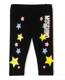 MOSCHINO BABY GIRLS LEGGINGS