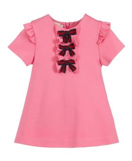GUCCI BABY GIRLS DRESS