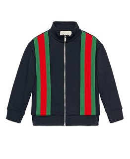 GUCCI BOYS ZIP SWEATER
