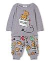 MOSCHINO MOSCHINO BABY BOYS TOP & PANT SET