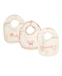 MONNALISA BABY GIRLS BIB SET