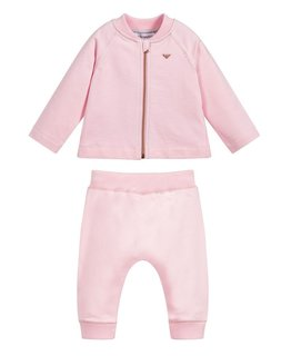 EMPORIO ARMANI BABY GIRLS JOGGING SUIT