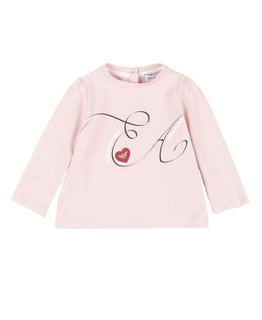 EMPORIO ARMANI BABY GIRLS TOP