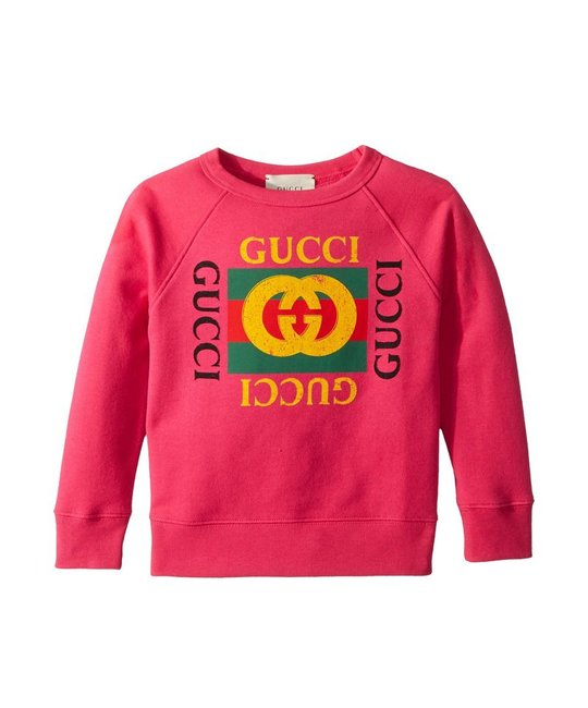 GUCCI GUCCI BABY GIRLS SWEATSHIRT