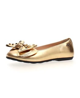 MOSCHINO GIRLS BALLET FLATS