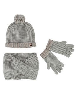 CARREMENT BEAU GIRLS HAT & SCARF SET