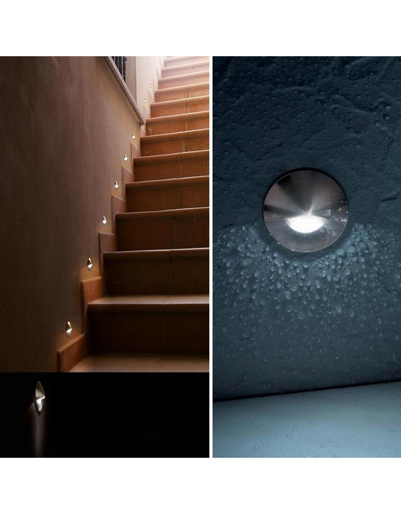 Egoluce Vista Recessed LED steplight