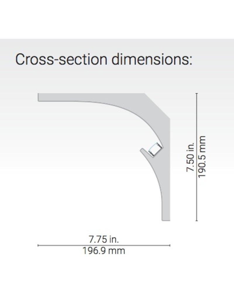 Dark Tools Apsis Linear Plaster-in Corner Moulding