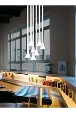 Vistosi Sissi Chrome and Glass Pendant