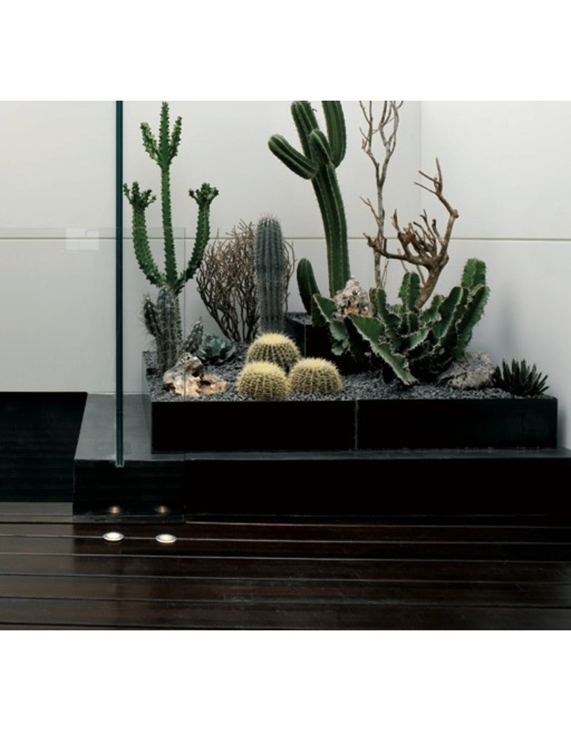 Viabizzuno M44 Adjustable In-Floor Uplight LED fixture