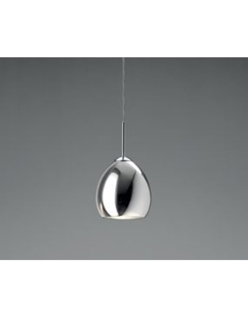 Leucos Golf Chrome Glass Pendant