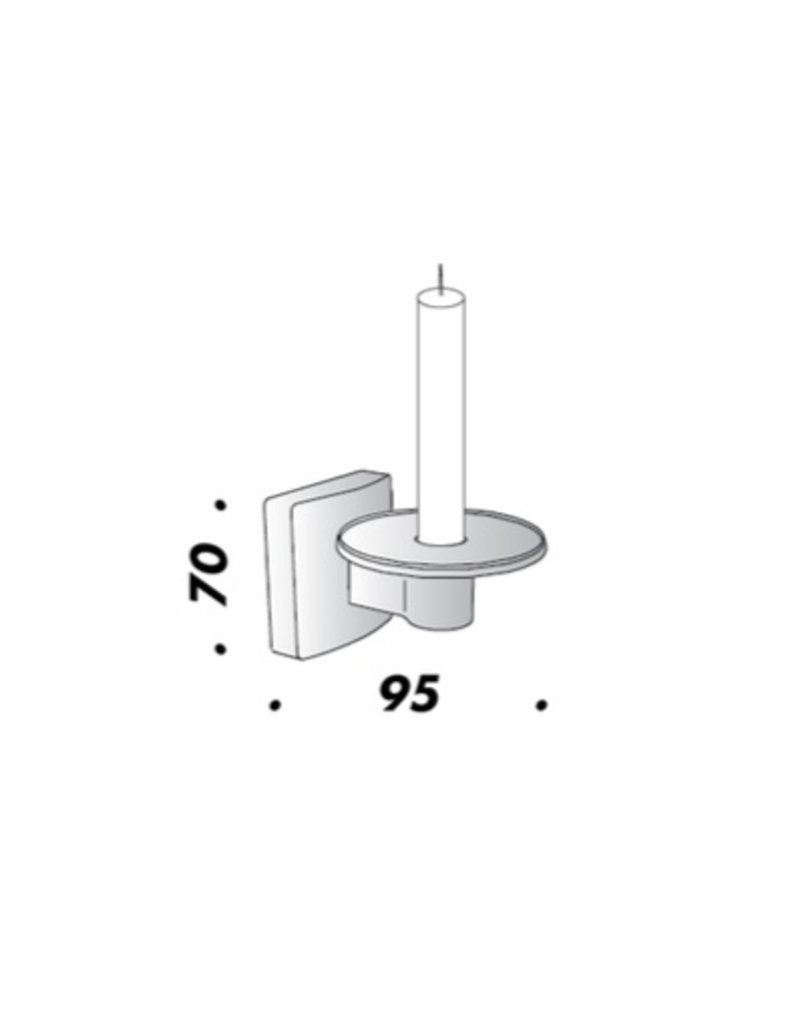 Viabizzuno Candle holder with Candle
