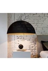 In-es.artdesign Mezza Luna lavagna Metal Blackboard Dome Pendant
