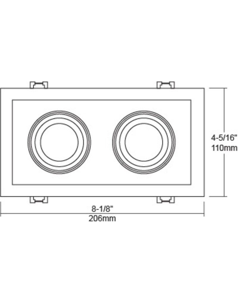 Liteline SIGMA2 LED 2-Light multiple Tilting Gimbal