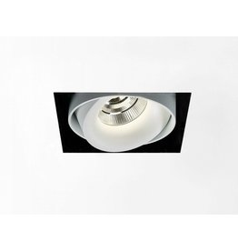 Delta Square recessed Snap-in Adjustable Downlight