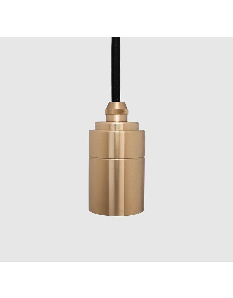 Tala Minimalist Single Socket Brass Pendant