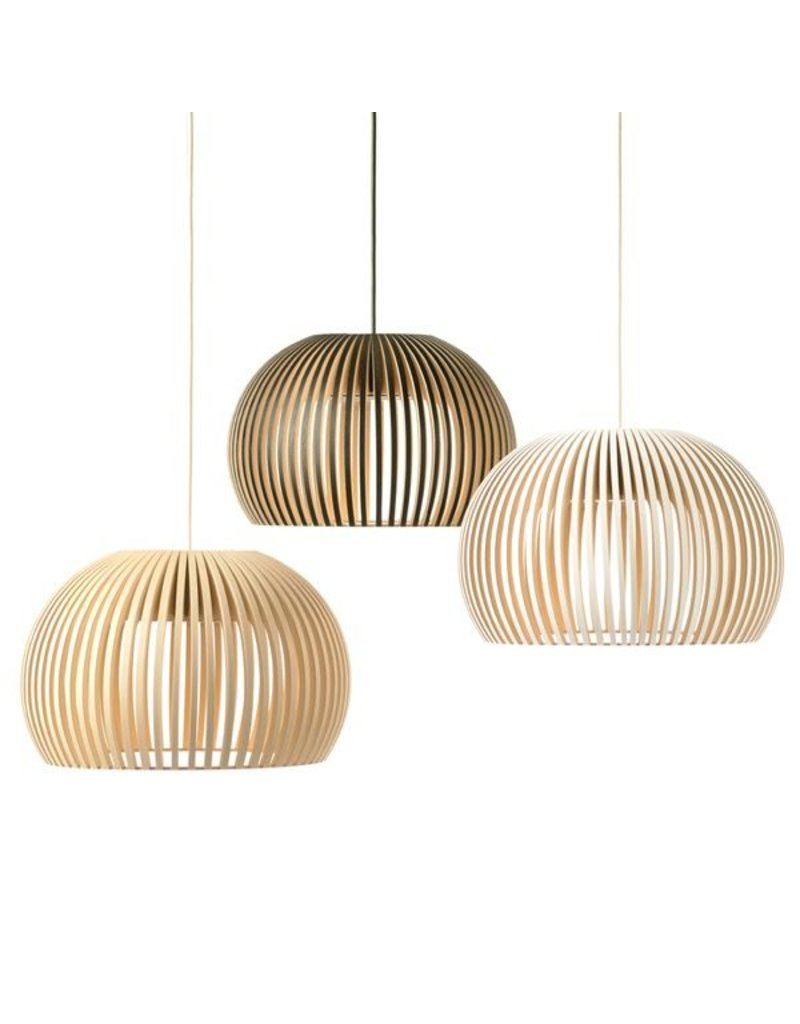 Secto Atto 5000 LED Wood Pendant fixture