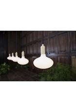 Tala White hand blown lamp