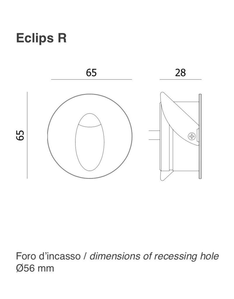 Aldabra Eclips R Round Asymmetric StepLight