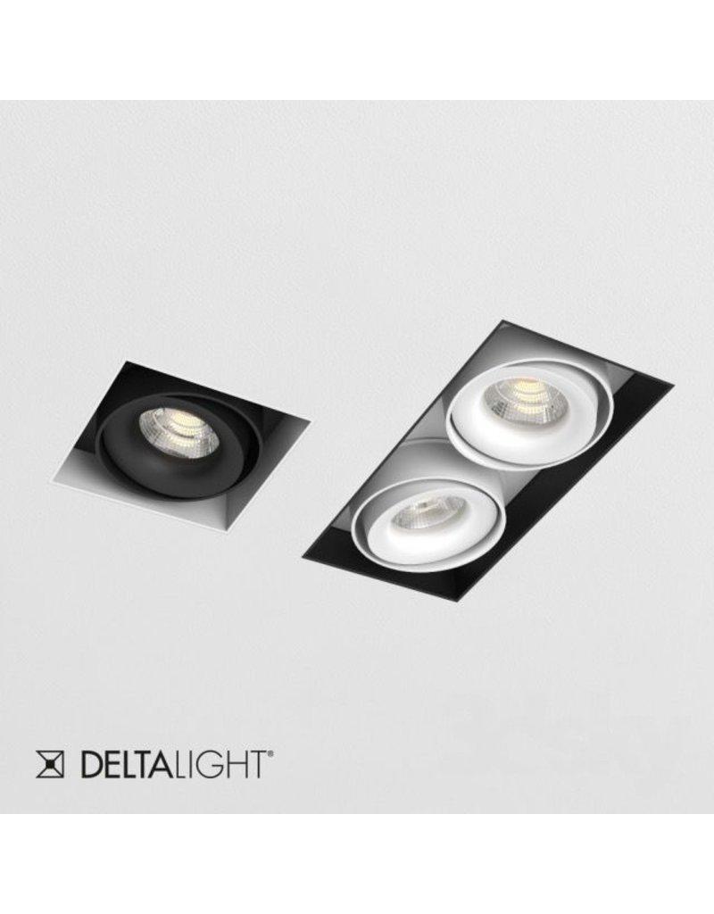 Delta Light Square Recessed Snap-in Adjustable Downlight