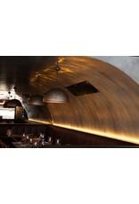 Il Fanale Galileo Aged Iron Dome Pendant