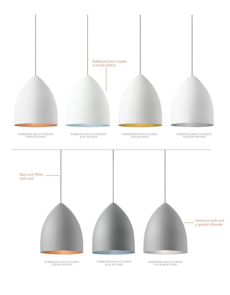 LBL Lighting Signal Grande metal Pendant