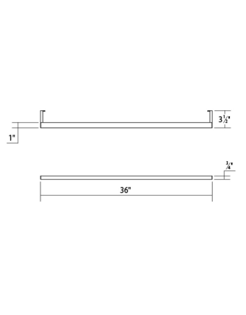 Sonneman Thin-Line LED indirect Wall Bar