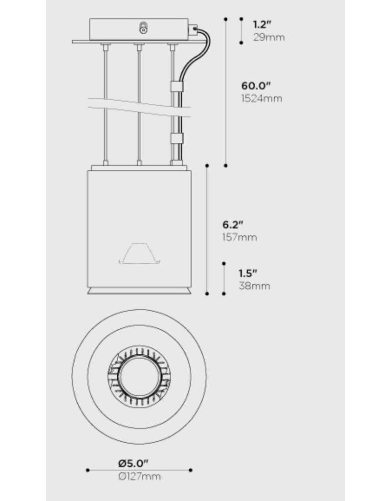 Arancia Pola LED cable Pendant