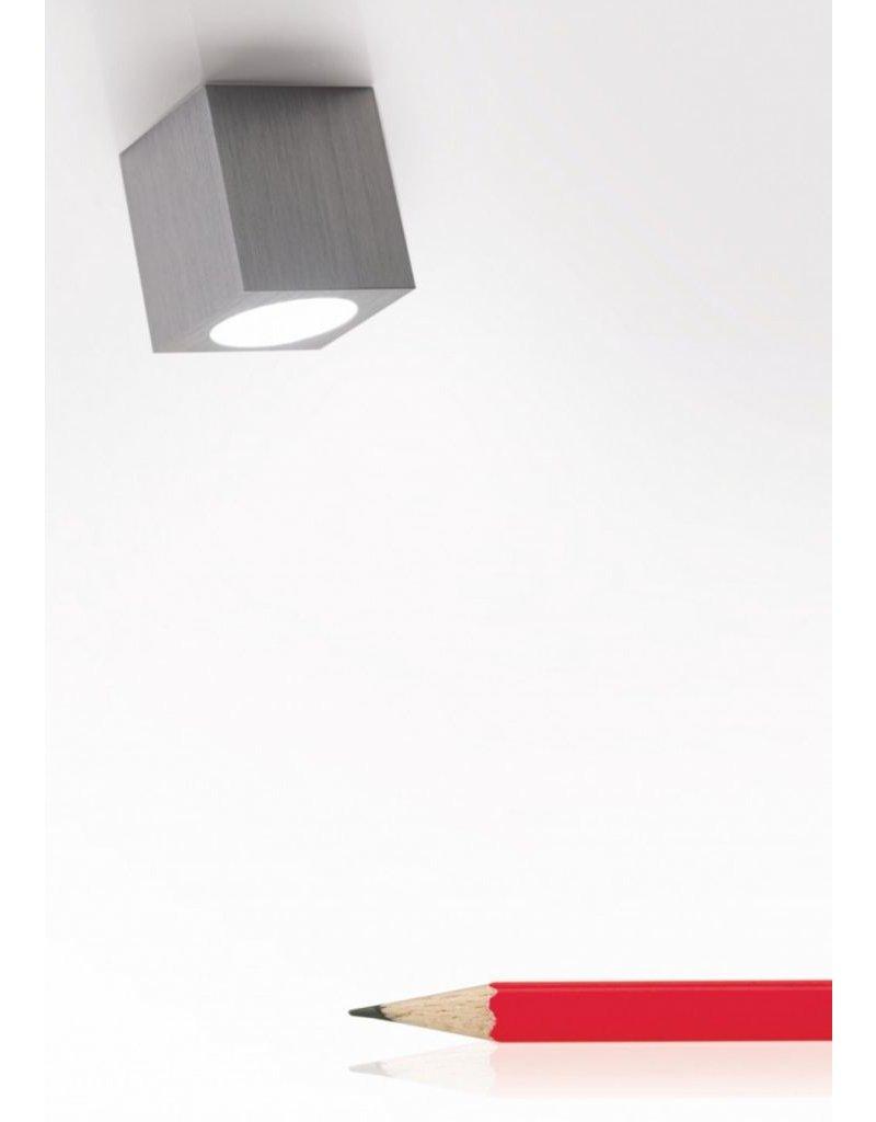 Egoluce Byte Tondo Square Semi-Recessed LED Micro Spot
