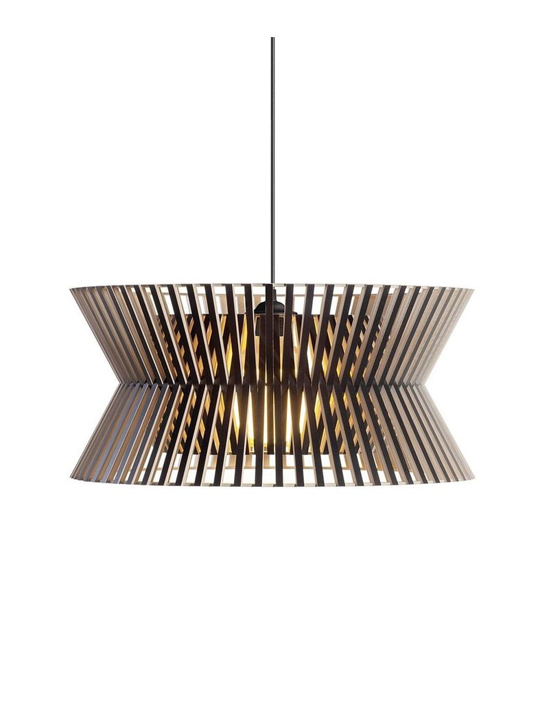 Secto Kontro 6000 Wood Pendant
