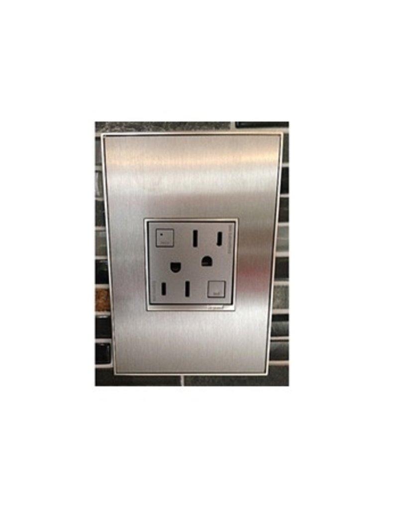 Adorne Tamper resistant electrical outlet