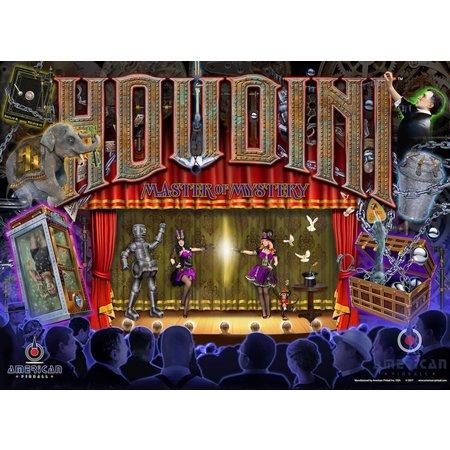 Houdini Master of Mystery Translite