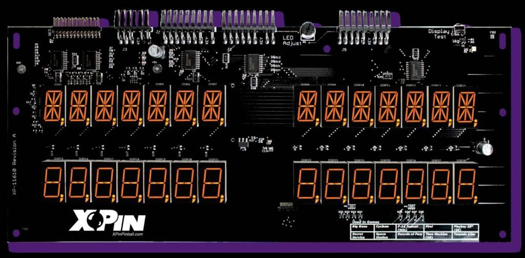 Williams 7-Digit Display XP-WMS11610