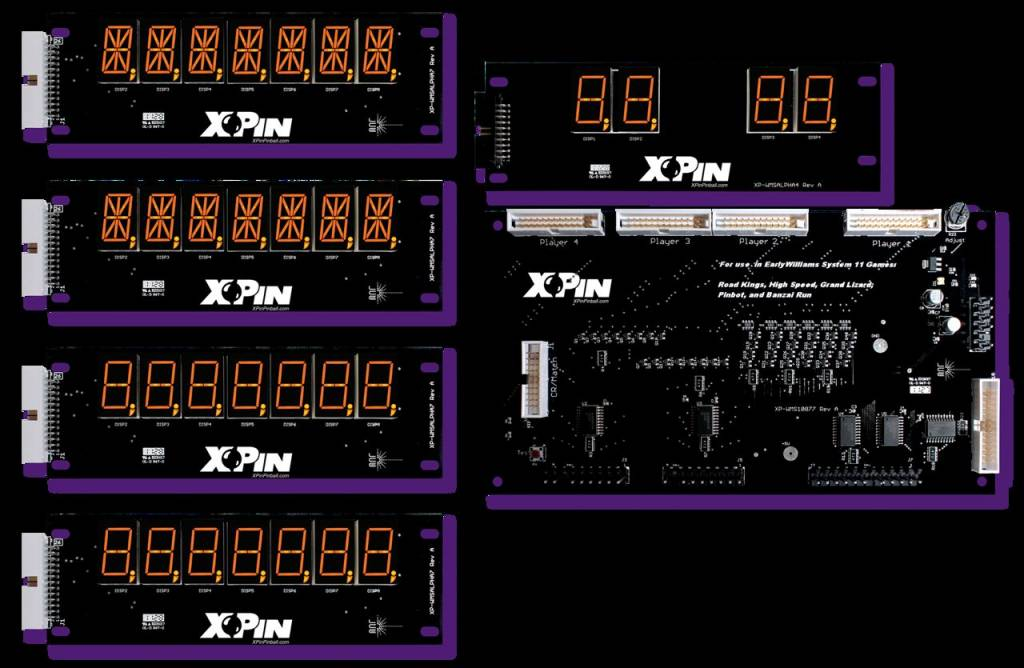 Williams 7-Digit Display XP-WMS10877