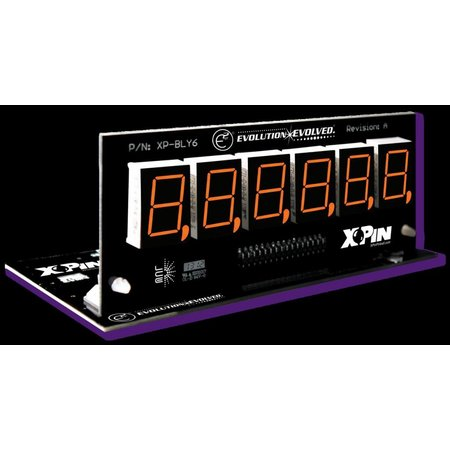 Bally/Stern 6-Digit Display XP-BLY2518-21