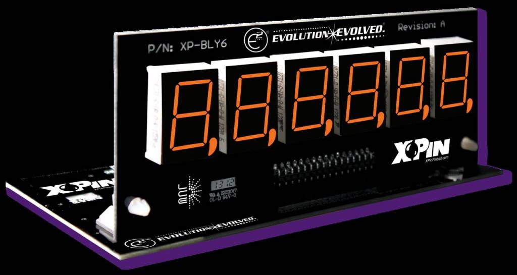 Bally/Stern 6-Digit Display XP-BLY2518-21