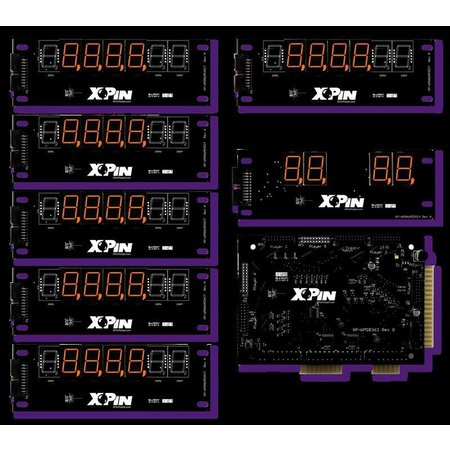 Williams 4-Digit Shuffle Display XP-WMS8363