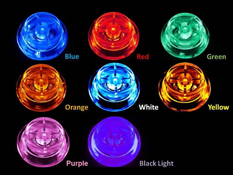 LED Flipper Button Kit - Bally/WMS