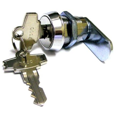 Coin Door Lock - Double Bitted