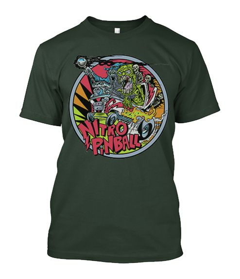 Nitro Pinball Dirty Donny T-Shirt