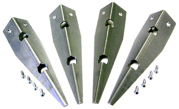 Cabinet Protectors - Metal (Set of 4)
