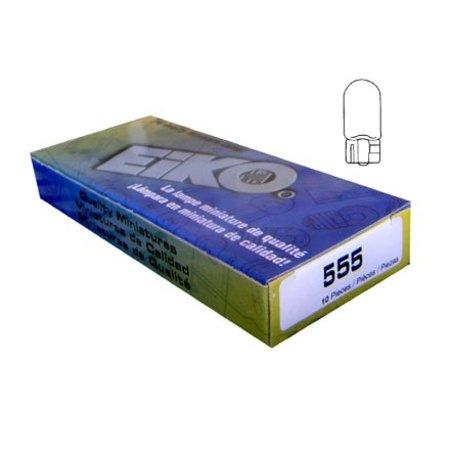 #555 Bulbs (Box of 10) - Wedge