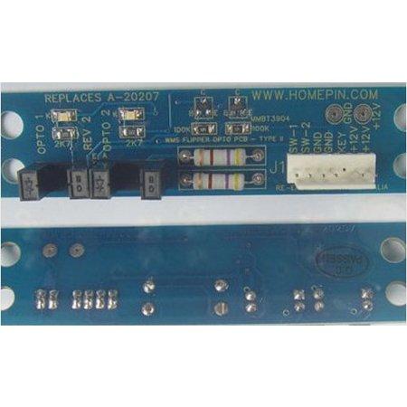 Homepin A-20207 Flipper Boards Type II to suit WMS (2Pk)