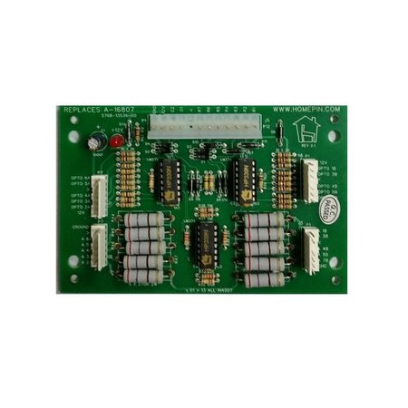 Homepin A-16807 Special 10 Opto Board - Suits Twilight Zone - Includes Mounting Brackets