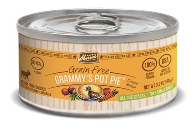 MERRICK Merrick Grammy's Pot Pie 3.2 oz Can