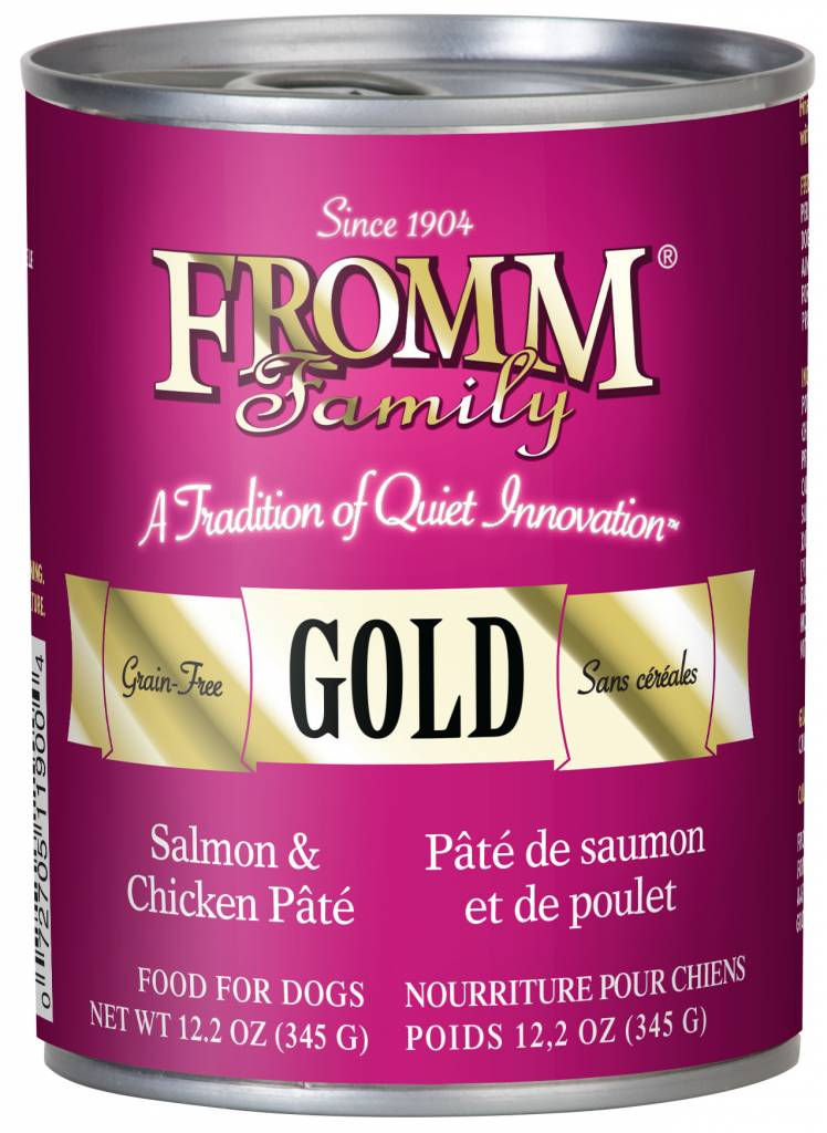 FROMM Fromm Gold Salmon and Chicken Pate 12.2OZ CN