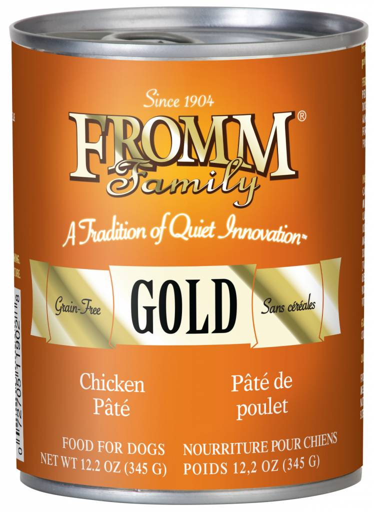 FROMM Fromm Gold Pate Chicken 12.2oz